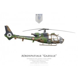 SA.341F Gazelle, 1st Combat Helicopter Regiment, French Army Light Aviation, Phalsbourg