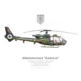 Aérospatiale SA.341F Gazelle, 1er Régiment d'Hélicoptères de Combat, Phalsbourg, Aviation Légère de l'Armée de Terre