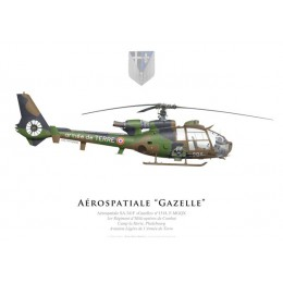Aérospatiale SA.341F Gazelle, 1st Combat Helicopter Regiment, French Army Light Aviation, Phalsbourg