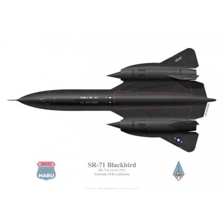 Lockheed SR-71 Blackbird SR-71A s/n 61-7955, Edwards AFB, US Air Force