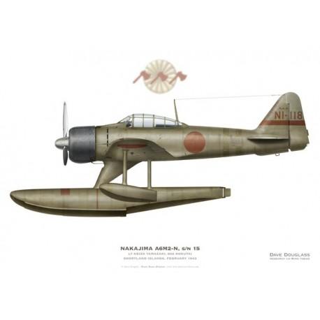 Nakajima A6M-2N Rufe, Lt Keizo Yamazaki, 802 Kokutai, Shortland Islands, February 1943