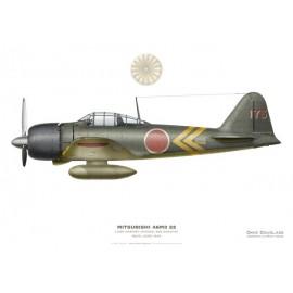 Mitsubishi A6M3 22 Zero, LCDR Saburo Shindo, 582 Kokutai, Buin, June 1943.