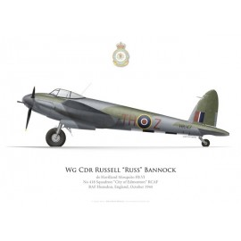 Mosquito FB.VI, W/C Russell Bannock, DSO, DFC, No 418 (RCAF) Squadron, 1944