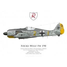 Fw 190A-6, Oblt. Josef Wurmheller, 9./JG 2