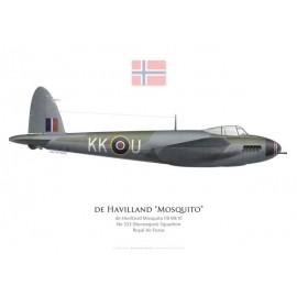 Mosquito FB Mk VI, No 333 (Norwegian) Squadron, Royal Air Force