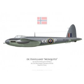 Mosquito FB Mk VI, No 333 (Norwegian) Squadron, Royal Air Force