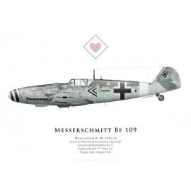 Bf 109G-6, Obstlt. Johannes Steinhoff, Geschwaderkommodore JG 77