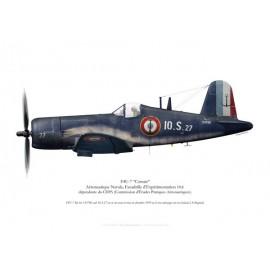 F4U-7 Corsair, Escadrille 10.S, 1959