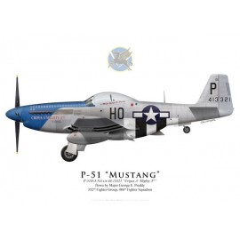 "P-51D Mustang ""Cripes A'Mighty 3rd"", G. E. Preddy, 486th FS, 352nd FG"
