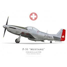 P-51D Mustang, J-2003, Forces Aériennes Suisses