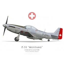 P-51D Mustang, J-2003, Swiss Air Force