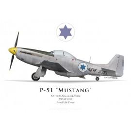 P-51D Mustang, IDFAF 3506, Armée de l'air israëlienne