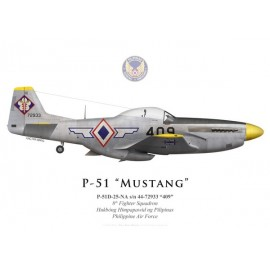 P-51D Mustang, 8th Fighter Squadron, Philippine Air Force