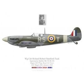 Spitfire Mk Vb, W/C Roland Robert Stanford-Tuck, Biggin Hill Wing, janvier 1942