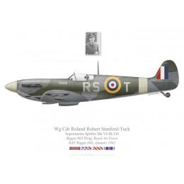 Spitfire Mk Vb, W/C Roland Robert Stanford-Tuck, Biggin Hill Wing, January 1942