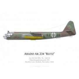 Arado Ar 234 S10, Erprobungskommando 234, Rechlin-Lärz, novembre 1944