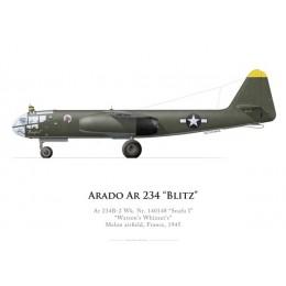 """Ar 234B-2, """"Watson's Whizzers"""", Melun, 1945"""