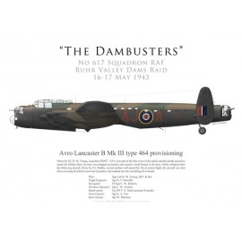 Lancaster Mk III type 464 provisioning, S/L Young, No 617 Squadron RAF, Opération Chastise, 16 mai 1943