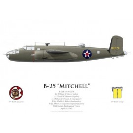 B-25B Mitchell, Lt William Bower, USS Hornet, Raid Doolittle, 18 avril 1942