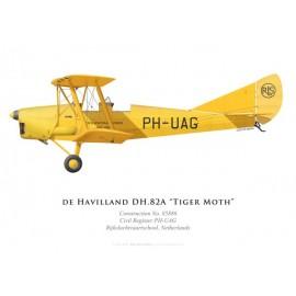 Tiger Moth, Rijksluchtvaartschool, Netherlands