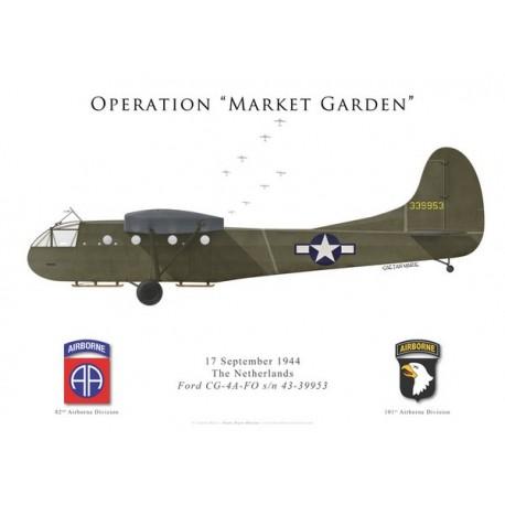 CG-4A-FO, Operation Market Garden, 17 September 1944.