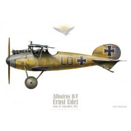 Albatros D.V, Ernst Udet, Jasta 37, septembre 1917