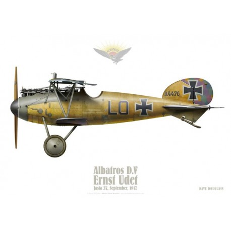 Albatros D.V, Ernst Udet, Jasta 37, September 1917