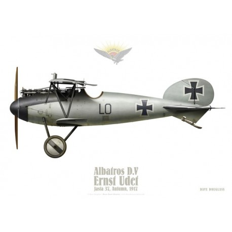 Albatros D.V, Ernst Udet, Jasta 37, Autumn 1917