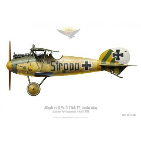 Albatros D.Va, Jasta 46, April 1918