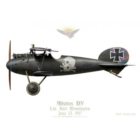 Albatros D.V, Ltn. Kurt Monnington, Jasta 15, 1917