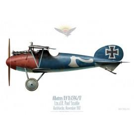 Albatros D.V, Ltn. d. R. Paul Strahle, Harlebecke, November 1917