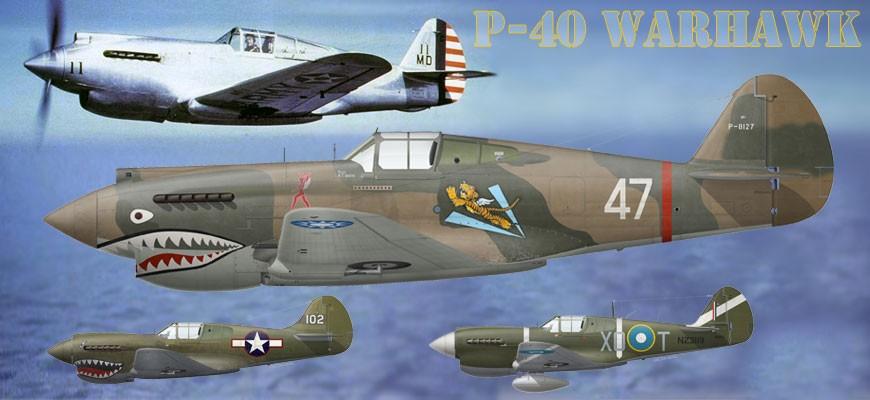 Voir tous les prints du Curtiss P-40 Warhawk